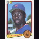 1983 Donruss Baseball #056 Mookie Wilson - New York Mets