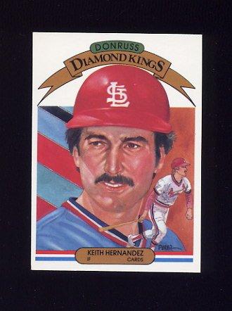 1983 Donruss Baseball #020 Keith Hernandez DK - St. Louis Cardinals
