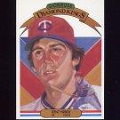 1983 Donruss Baseball #019 Kent Hrbek DK - Minnesota Twins