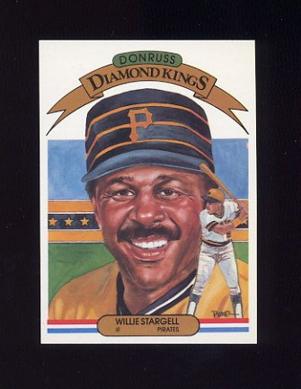 1983 Donruss Baseball #008 Willie Stargell DK - Pittsburgh Pirates