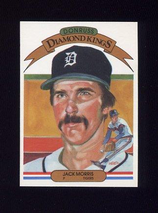 1983 Donruss Baseball #005 Jack Morris DK - Detroit Tigers