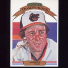 1983 Donruss Baseball #004 Jim Palmer DK - Baltimore Orioles