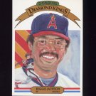 1983 Donruss Baseball #003 Reggie Jackson DK - California Angels