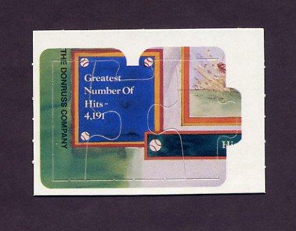 1983 Donruss Baseball Ty Cobb Diamond King Puzzle #55,#56,#57