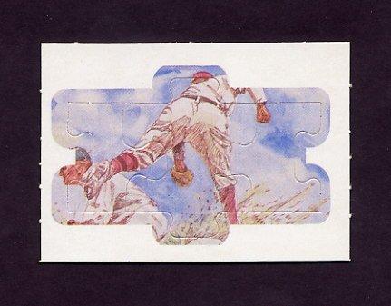 1983 Donruss Baseball Ty Cobb Diamond King Puzzle #49,#50,#51