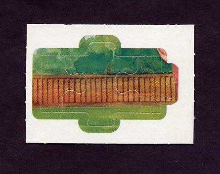 1983 Donruss Baseball Ty Cobb Diamond King Puzzle #28,#29,#30