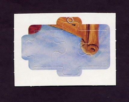 1983 Donruss Baseball Ty Cobb Diamond King Puzzle #16,#17,#18