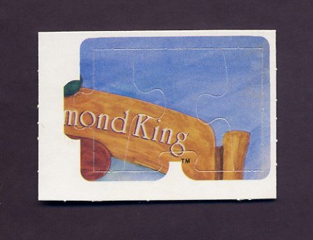 1983 Donruss Baseball Ty Cobb Diamond King Puzzle #07,#08,#09