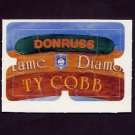 1983 Donruss Baseball Ty Cobb Diamond King Puzzle #04,#05,#06