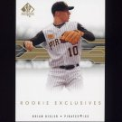 2008 SP Authentic Baseball Rookie Exclusives #BI Brian Bixler - Pittsburgh Pirates