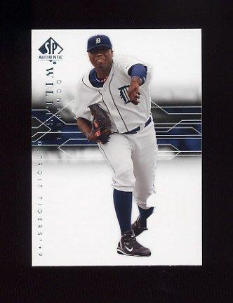 2008 SP Authentic Baseball #077 Dontrelle Willis - Detroit Tigers