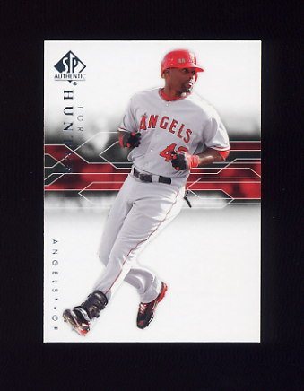2008 SP Authentic Baseball #070 Torii Hunter - Anaheim Angels