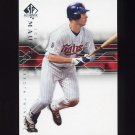 2008 SP Authentic Baseball #068 Joe Mauer - Minnesota Twins