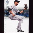2008 SP Authentic Baseball #055 Alex Rios - Toronto Blue Jays