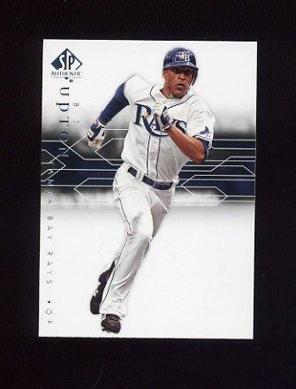 2008 SP Authentic Baseball #013 B.J. Upton - Tampa Bay Rays