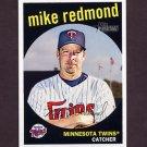 2008 Topps Heritage Baseball #639 Mike Redmond - Minnesota Twins