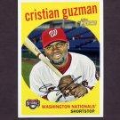 2008 Topps Heritage Baseball #620 Cristian Guzman - Washington Nationals