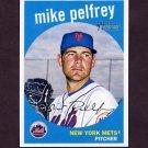 2008 Topps Heritage Baseball #574 Mike Pelfrey - New York Mets