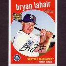 2008 Topps Heritage Baseball #566 Bryan LaHair RC - Seattle Mariners