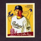 2008 Upper Deck Goudey Baseball Mini Red Backs #158 Adrian Gonzalez - San Diego Padres