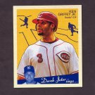 2008 Upper Deck Goudey Baseball Mini Red Backs #054 Ken Griffey Jr. - Cincinnati Reds