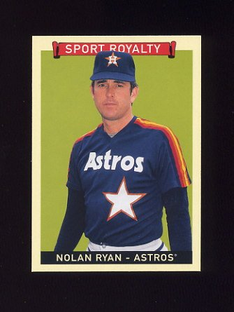 2008 Upper Deck Goudey Baseball #319 Nolan Ryan SR SP - Houston Astros