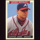 2008 Upper Deck Goudey Baseball #281 Chipper Jones SR SP - Atlanta Braves