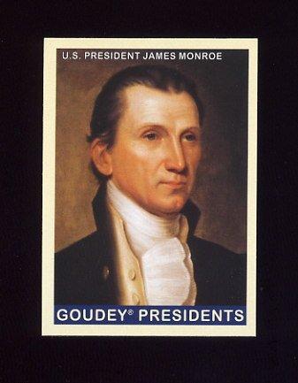 2008 Upper Deck Goudey Baseball #234 James Monroe SP U.S. President