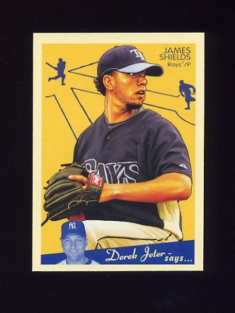 2008 Upper Deck Goudey Baseball #181 James Shields - Tampa Bay Rays
