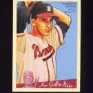 2008 Upper Deck Goudey Baseball #103 Warren Spahn - Boston Braves