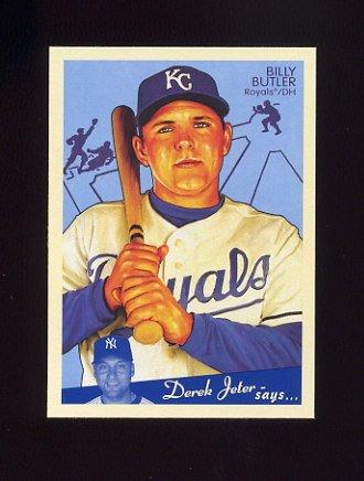 2008 Upper Deck Goudey Baseball #088 Billy Butler - Kansas City Royals
