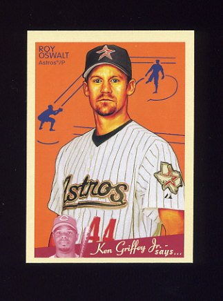 2008 Upper Deck Goudey Baseball #081 Roy Oswalt - Houston Astros