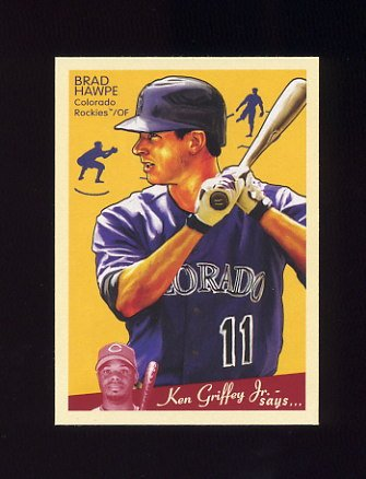 2008 Upper Deck Goudey Baseball #062 Brad Hawpe - Colorado Rockies