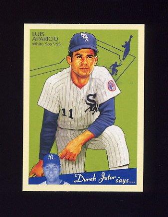 2008 Upper Deck Goudey Baseball #039 Luis Aparicio - Chicago White Sox
