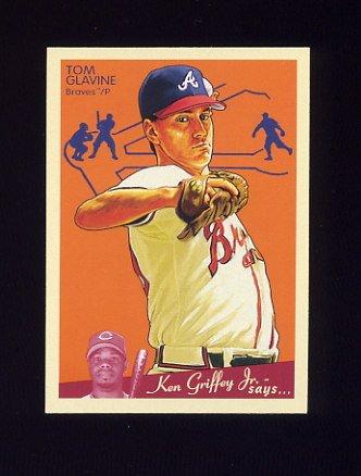 2008 Upper Deck Goudey Baseball #013 Tom Glavine - Atlanta Braves