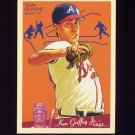 2008 Upper Deck Goudey Baseball #013 Tom Glavine - Atlanta Braves