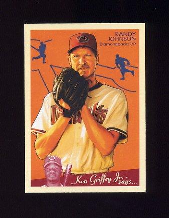 2008 Upper Deck Goudey Baseball #002 Randy Johnson - Arizona Diamondbacks