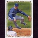 2008 UD Masterpieces Baseball #87 Michael Young - Texas Rangers