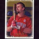 2008 UD Masterpieces Baseball #84 Jason Varitek - Boston Red Sox