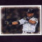 2008 UD Masterpieces Baseball #81 Ichiro Suzuki - Seattle Mariners