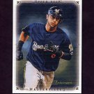 2008 UD Masterpieces Baseball #48 Ryan Braun - Milwaukee Brewers
