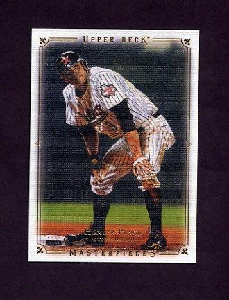 2008 UD Masterpieces Baseball #45 Hunter Pence - Houston Astros