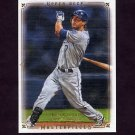 2008 UD Masterpieces Baseball #40 Alex Gordon - Kansas City Royals