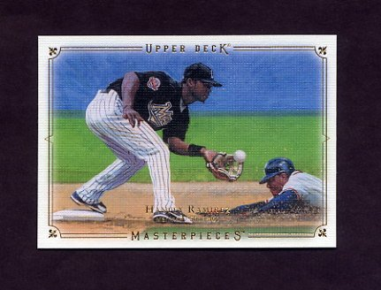 2008 UD Masterpieces Baseball #37 Hanley Ramirez - Florida Marlins
