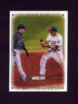 2008 UD Masterpieces Baseball #33 Asdrubal Cabrera - Cleveland Indians