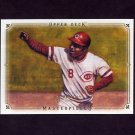 2008 UD Masterpieces Baseball #25 Joe Morgan - Cincinnati Reds