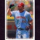 2008 UD Masterpieces Baseball #24 Adam Dunn - Cincinnati Reds