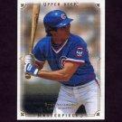 2008 UD Masterpieces Baseball #19 Ryne Sandberg - Chicago Cubs