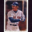 2008 UD Masterpieces Baseball #12 Wade Boggs - Boston Red Sox