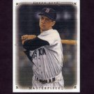 2008 UD Masterpieces Baseball #11 Carl Yastrzemski - Boston Red Sox